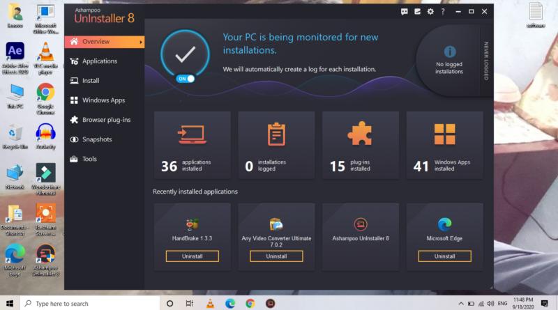 Ashampoo Uninstaller 8 Software For Free